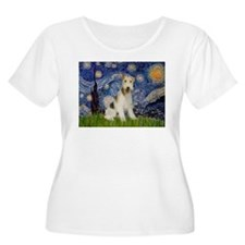 Starry / Fox Terrier (W) T-Shirt