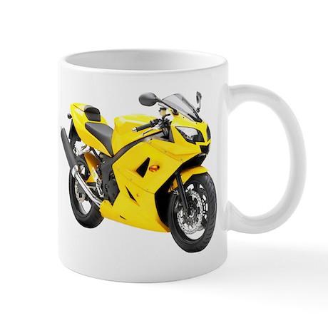 Triumph Daytona 650 Yellow Mug