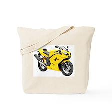 Triumph Daytona 650 Yellow Tote Bag
