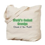 World's Coolest Grandpa Tote Bag