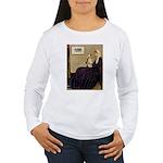 Mom's Wire Fox Terrier Women's Long Sleeve T-Shirt