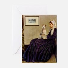Mom's Wire Fox Terrier Greeting Cards (Pk of 20)