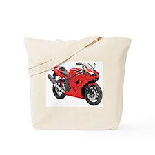 Triumph Daytona 650 Red #2 Tote Bag