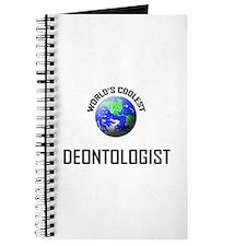 World's Coolest DEONTOLOGIST Journal