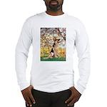 Spring & German Shepherd Long Sleeve T-Shirt