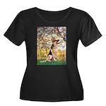 Spring & German Shepherd Women's Plus Size Scoop N