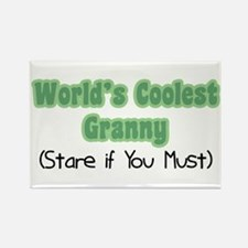 World's Coolest Granny Rectangle Magnet
