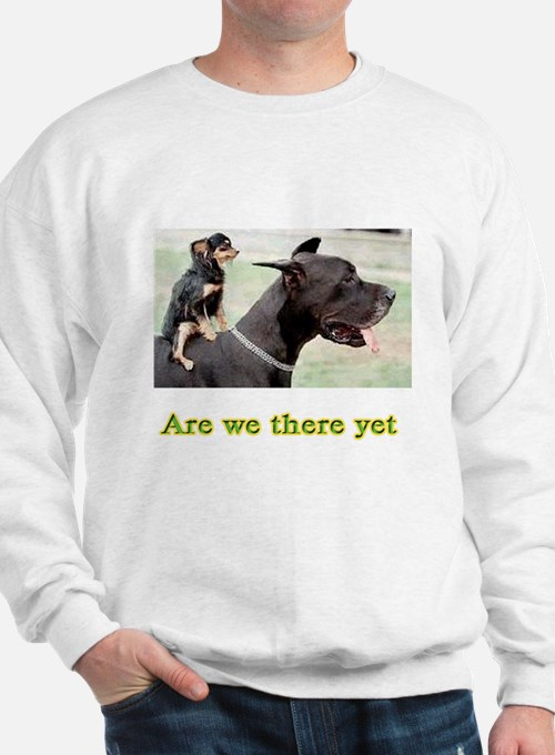 Are We There Sweatshirt