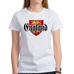 England Coat of Arms Women's T-Shirt