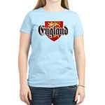 England Coat of Arms Women's Light T-Shirt