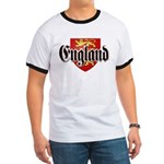England Coat of Arms Ringer T