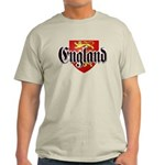 England Coat of Arms Light T-Shirt