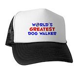 Worlds greatest dog walker Hats & Caps