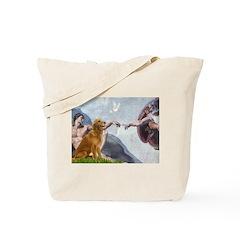 Golden Creation Tote Bag