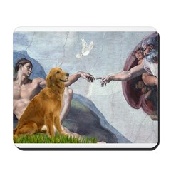 Golden Creation Mousepad