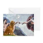 Golden Creation Greeting Cards (Pk of 10)