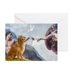 Golden Creation Greeting Cards (Pk of 20)
