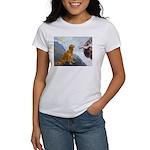 Creation (#2) & Golden Women's T-Shirt