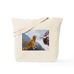 Creation (#2) & Golden Tote Bag