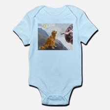 Creation (#2) & Golden Infant Bodysuit