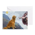 Creation (#2) & Golden Greeting Cards (Pk of 10)