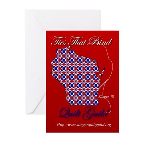 Ties That Bind Quilt Guild Greeting Cards (Pk of 1