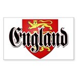 England Coat of Arms Sticker (Rectangle)