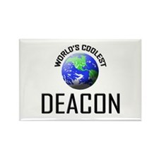 World's Coolest DEACON Rectangle Magnet