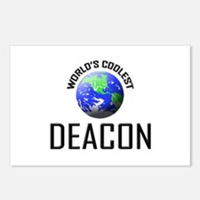 World's Coolest DEACON Postcards (Package of 8)