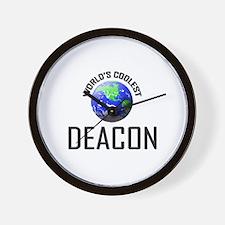 World's Coolest DEACON Wall Clock