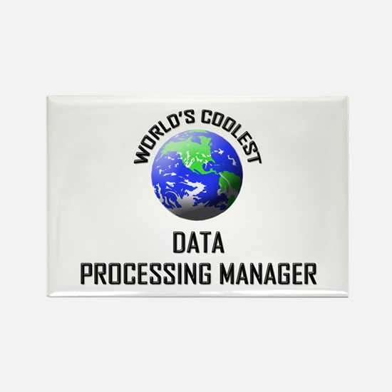 World's Coolest DATA PROCESSING MANAGER Rectangle