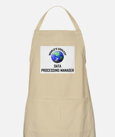 World's Coolest DATA PROCESSING MANAGER BBQ Apron
