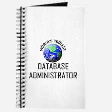 World's Coolest DATABASE ADMINISTRATOR Journal