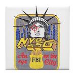 FBI New York District SSG Tile Coaster