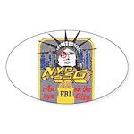 FBI New York District SSG Oval Sticker