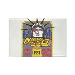 FBI New York District SSG Rectangle Magnet (100 pa