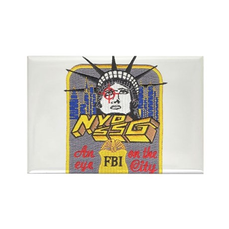 FBI New York District SSG Rectangle Magnet (100 pa