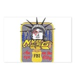 FBI New York District SSG Postcards (Package of 8)