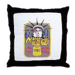 FBI New York District SSG Throw Pillow