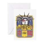 FBI New York District SSG Greeting Cards (Pk of 10