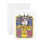 FBI New York District SSG Greeting Card