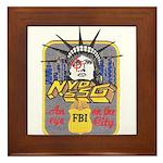 FBI New York District SSG Framed Tile