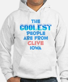 Coolest: Clive, IA Hoodie