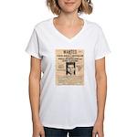 Lucky Luciano Women's V-Neck T-Shirt
