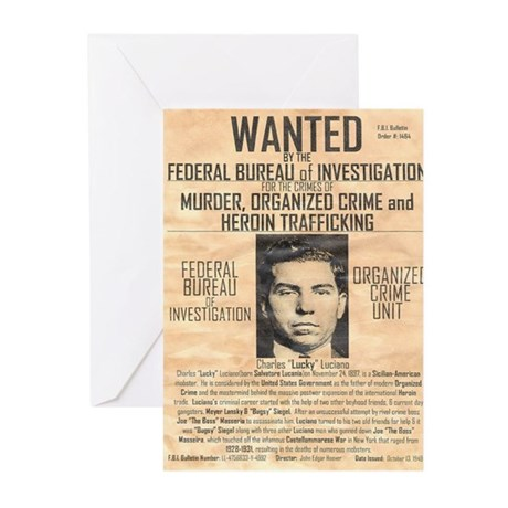 Lucky Luciano Greeting Cards (Pk of 10)