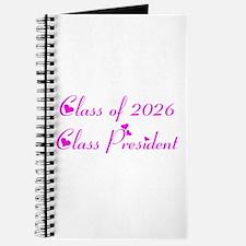 Class president 2026 Journal