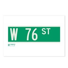 76th Street in NY Postcards (Package of 8)