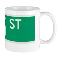 76th Street in NY Mug