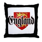 England Coat of Arms Throw Pillow
