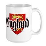 England Coat of Arms Large Mug